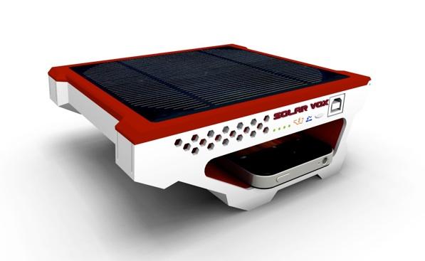 Solar Vox: Estación de energía solar