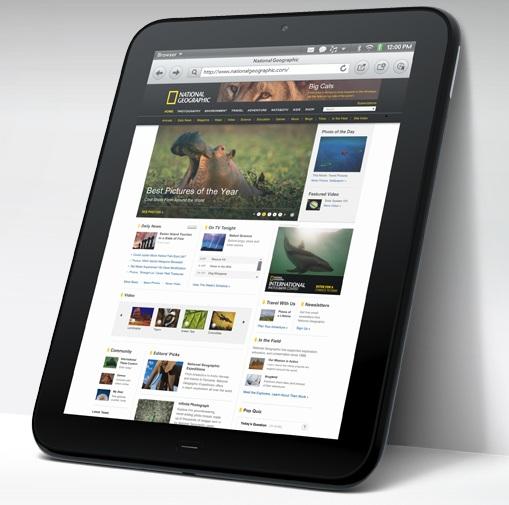 Conoce el HP TouchPad