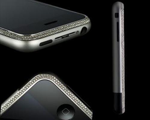 Edición diamante iPhone 4.