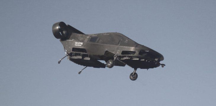 Ambulancia robótica voladora