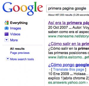 googleprimero